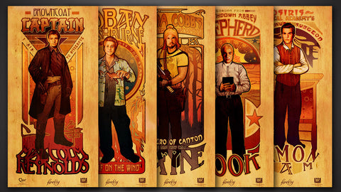Photo of Firefly Les Hommes Poster Set