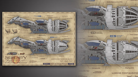 Photo of Serenity Blueprints Reference Pack