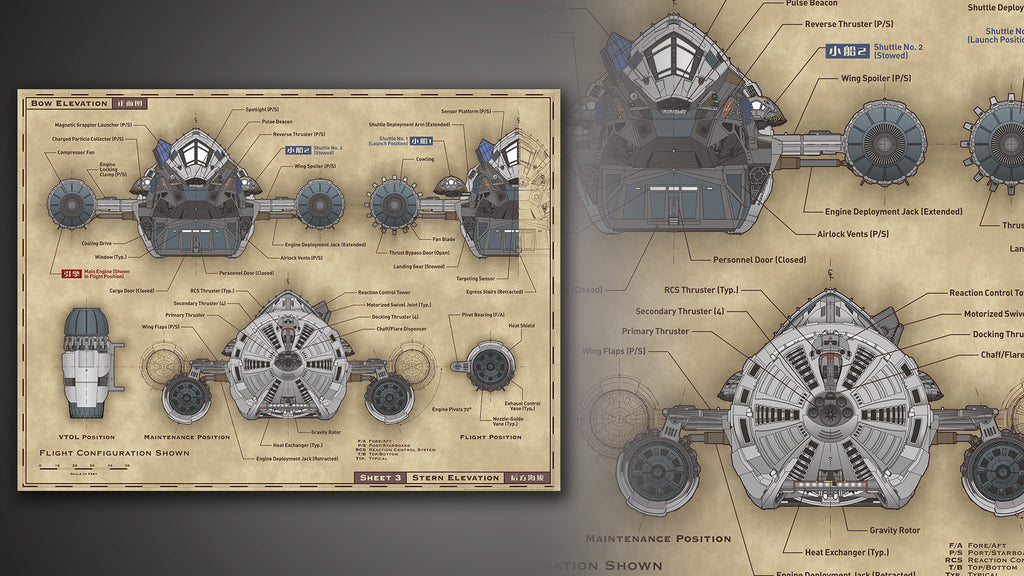 Serenity Blueprints Reference Pack