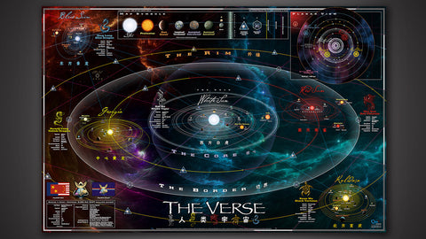 Photo of Complete and Official Map of the Verse