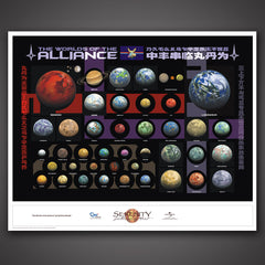 Thumbnail of Worlds of the Alliance Limited-Edition Lithograph