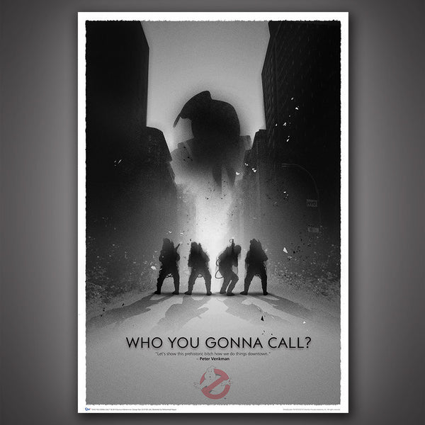 Ghostbusters 30th Anniversary Art Print