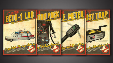 Photo of Ghostbusters Tech Poster Set