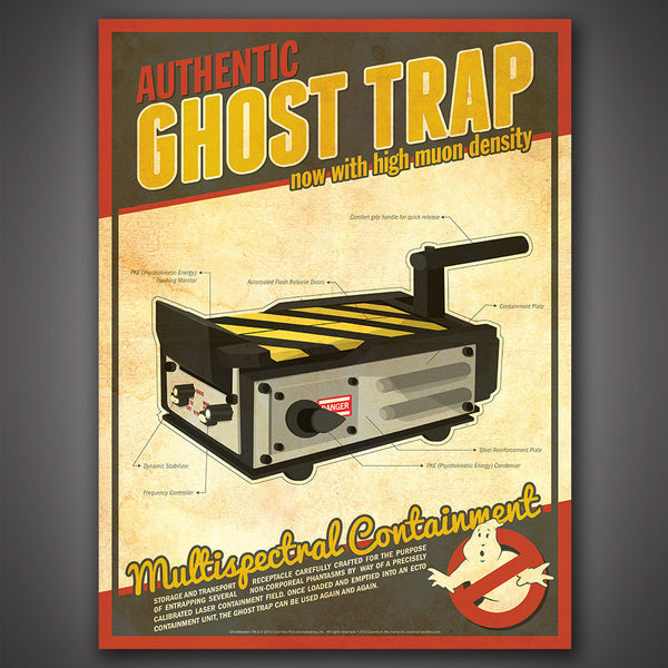 Ghostbusters Tech Poster Set