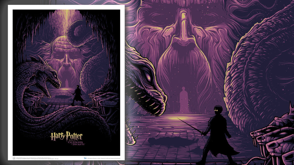 Harry Potter and the Eyes of the Basilisk Art Print