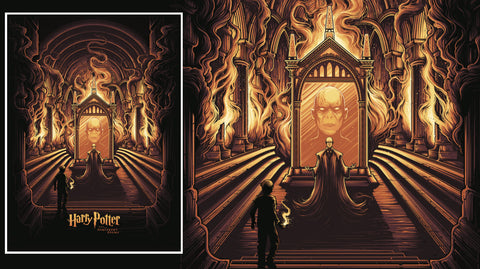 Photo of Harry Potter and the Mirror of Erised Art Print