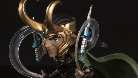 Photo of Loki – Thor: Ragnarok Q-Fig Diorama