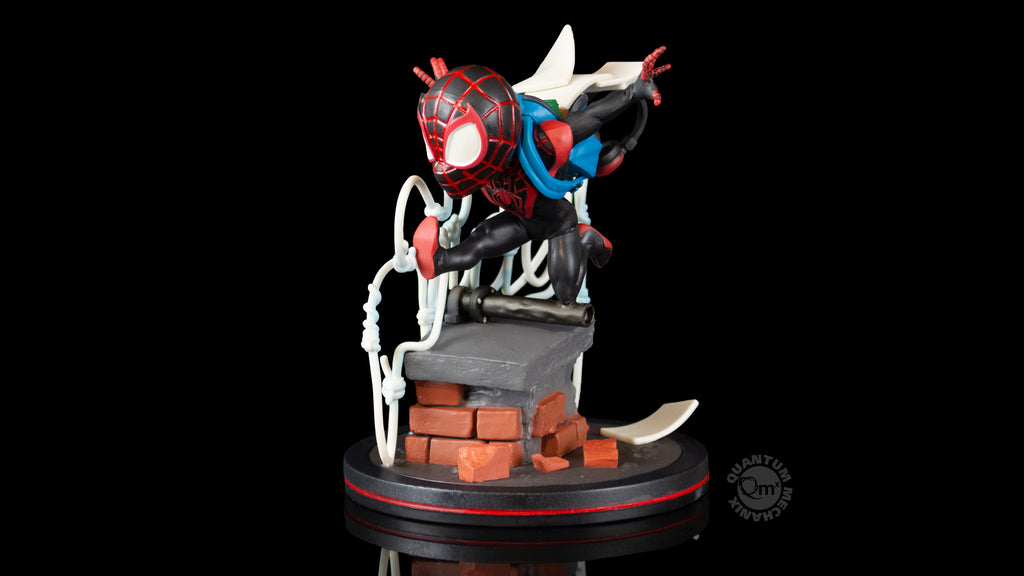 Miles Morales Spider-Man Q-Fig Elite Diorama