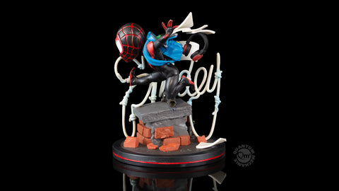 Photo of Miles Morales Spider-Man Q-Fig Elite Diorama