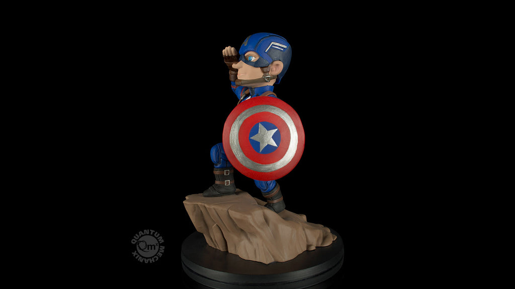 Captain America Civil War Q-Fig Diorama