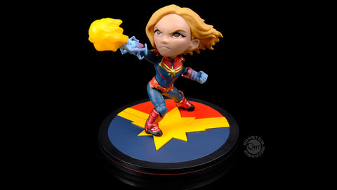 Photo of Captain Marvel Q-Fig Diorama