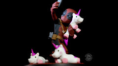 Thumbnail of Deadpool #unicornselfie Q-Fig Diorama