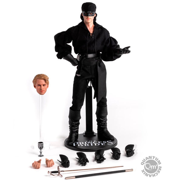 Princess Bride The Dread Pirate Roberts AKA Westley Collectible Figure QMX 1:6