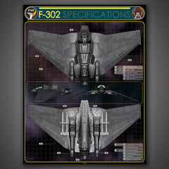 Photo of F-302 Technical Specifications Poster