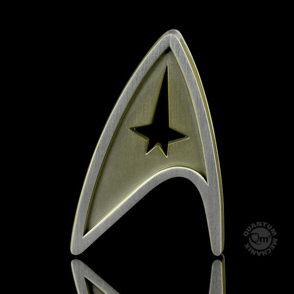 Star Trek Beyond Magnetic Insignia Badge — Command