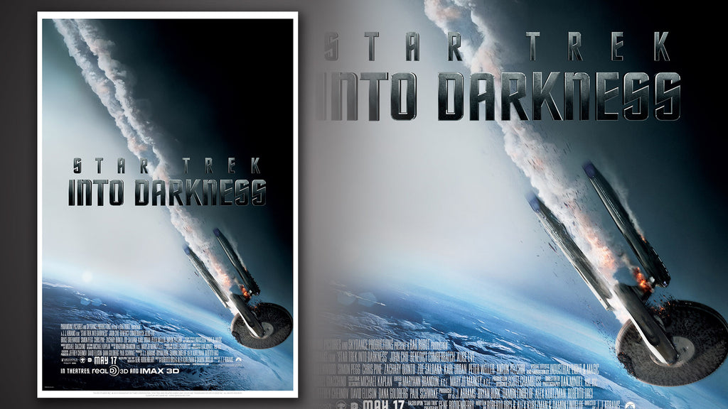 Star Trek Into Darkness Movie Poster: Falling
