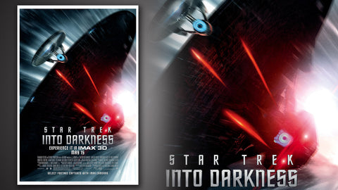 Photo of Star Trek Into Darkness Movie Poster: Pursuit
