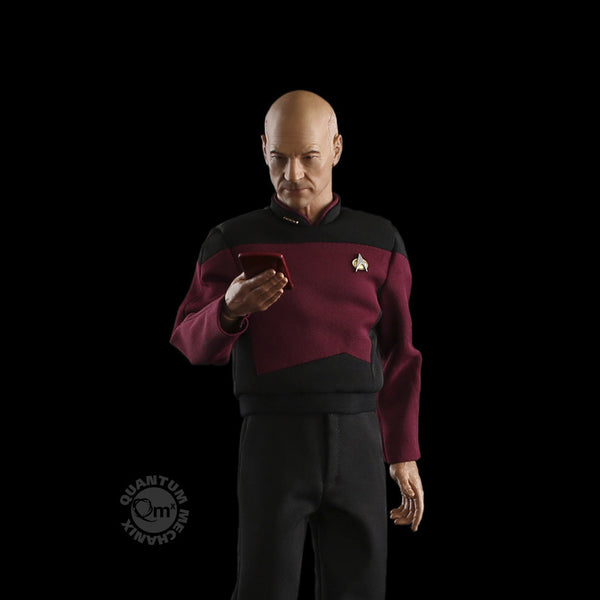 QMX Star Trek TNG Captain Picard 1:6 Scale Articulated Figure Quantum Mechanix