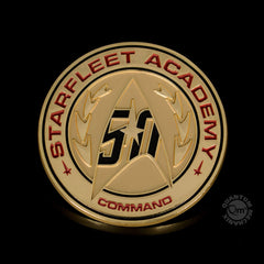 Photo of Star Trek 50th Anniversary Lapel Pin