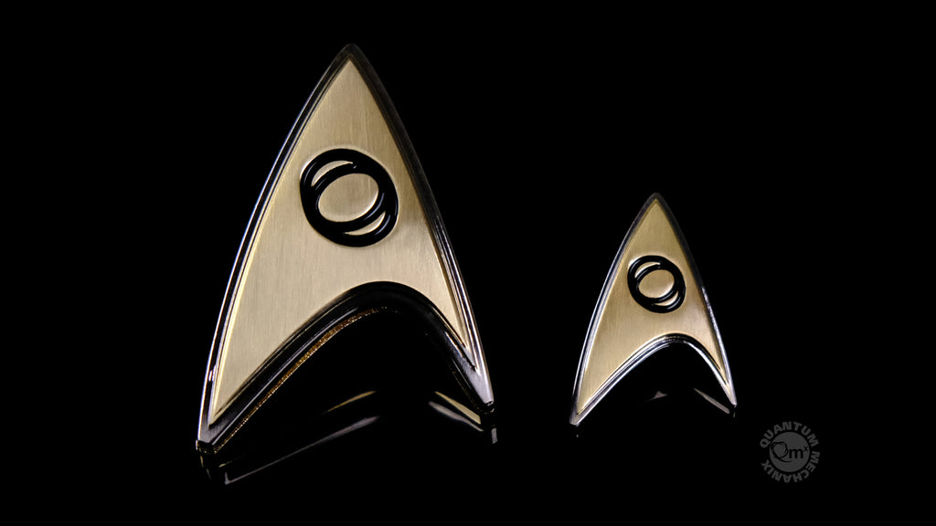 Star Trek: Discovery Enterprise Badge - Science