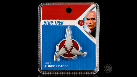 Photo of Star Trek Klingon Emblem Badge