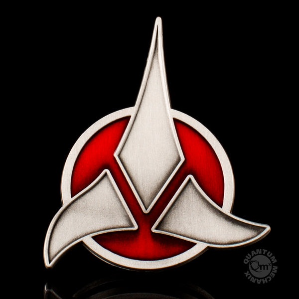 Star Trek Klingon Emblem Badge