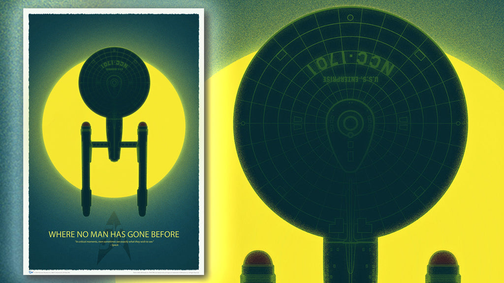 Star Trek 50th Anniversary Art Print