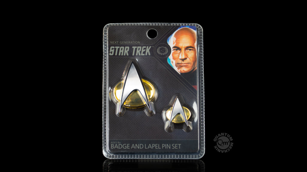 Star Trek: TNG Badge and Pin Set