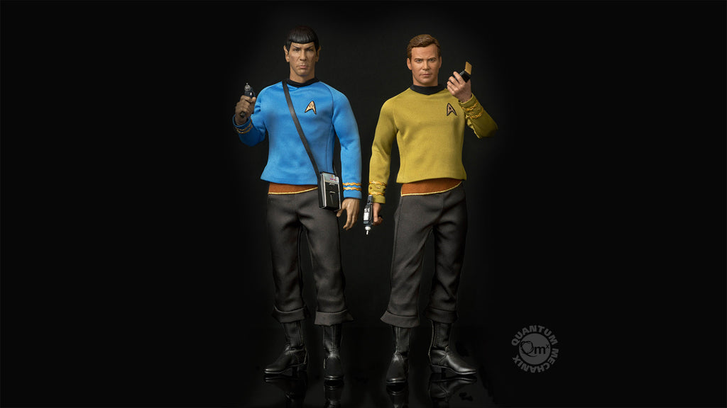 TOS Kirk 1:6 Scale Articulated Figure sold separately.