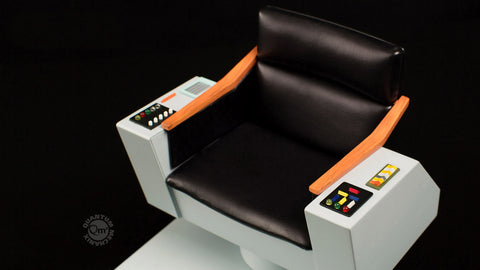 Photo of Star Trek TOS 1:6 Scale Captain's Chair FX Replica