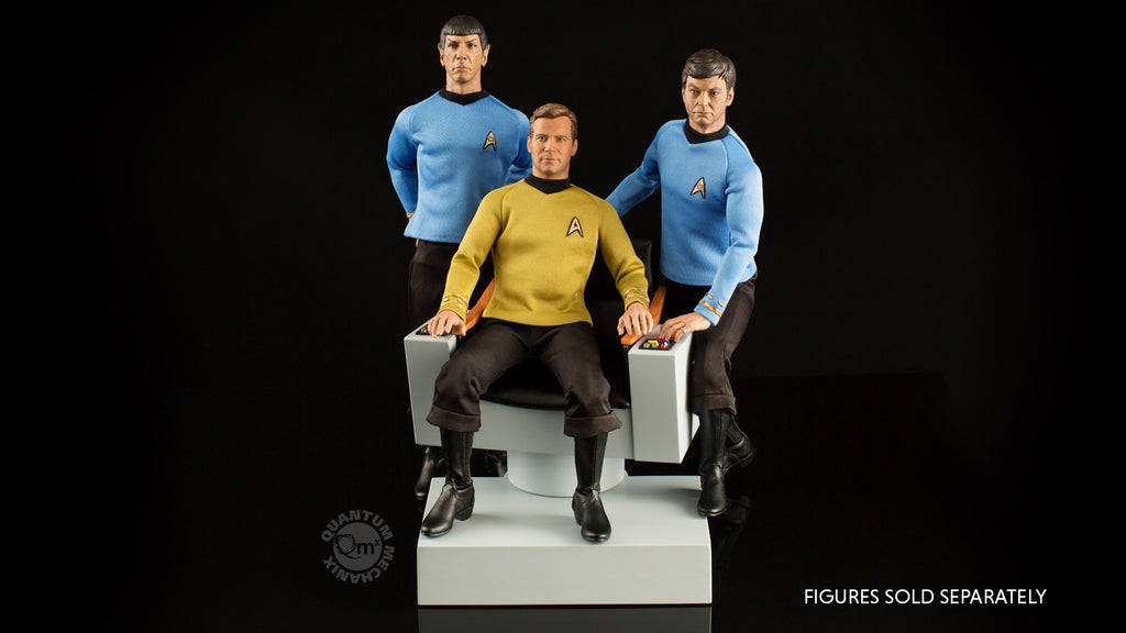 Star Trek TOS 1:6 Scale Captain's Chair FX Replica