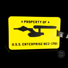 Photo of U.S.S. Enterprise Q-Tag