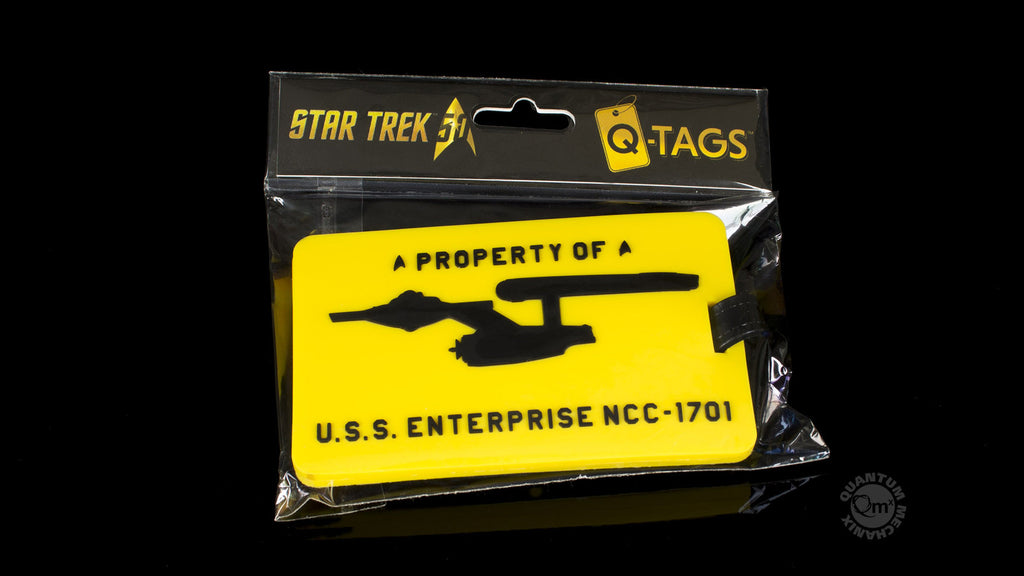 U.S.S. Enterprise Q-Tag
