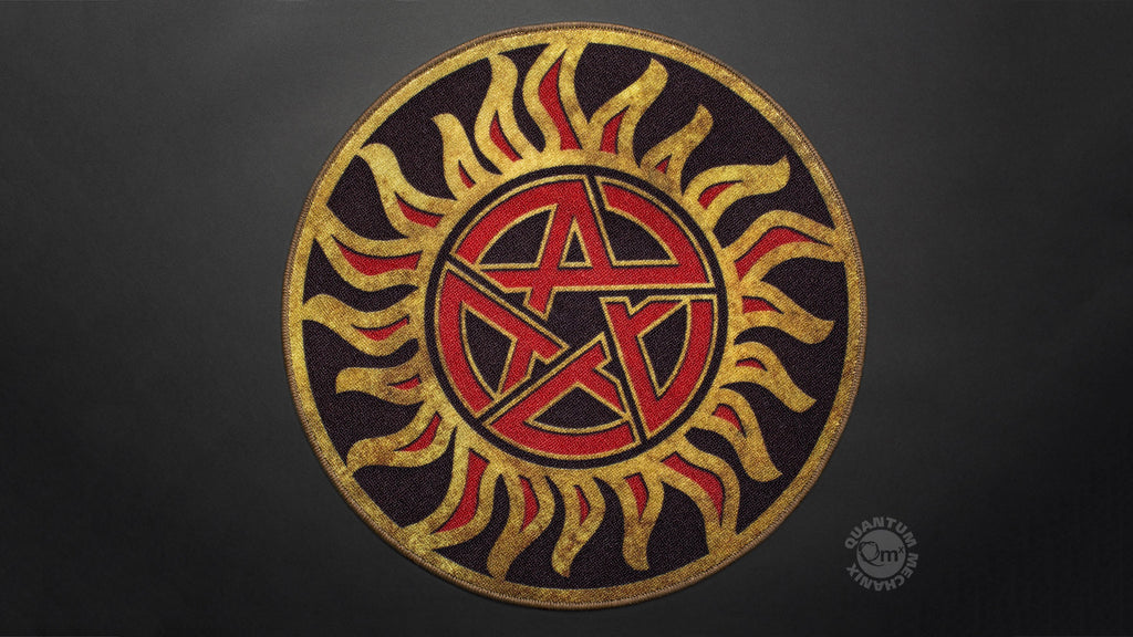 Supernatural Anti-Possession Symbol Doormat – Quantum Mechanix