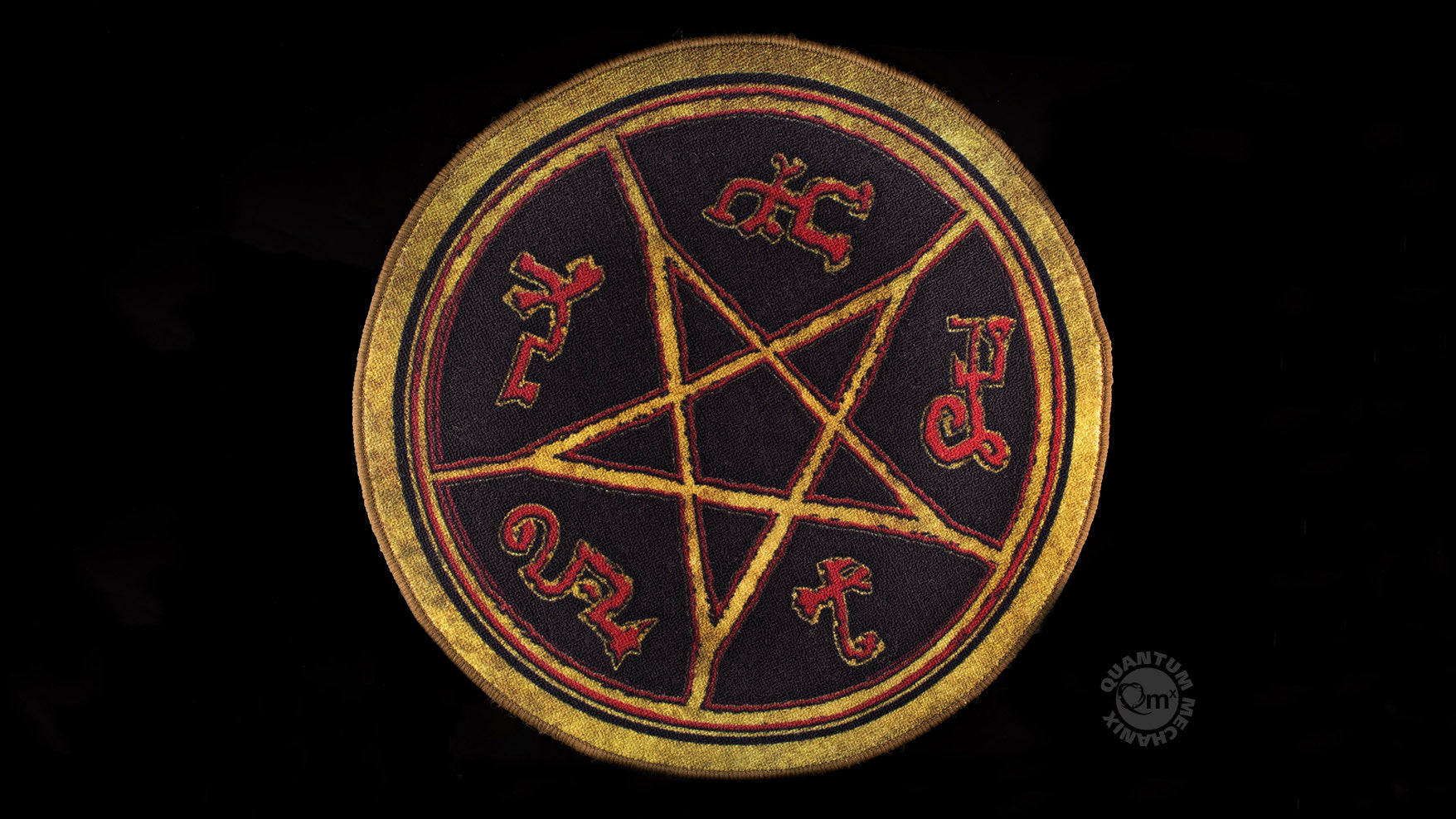 Supernatural Devils Trap Doormat Quantum Mechanix