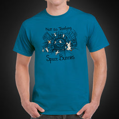 Thumbnail of Not-So-Terrifying Space Bunnies T-Shirt – Limited Edition