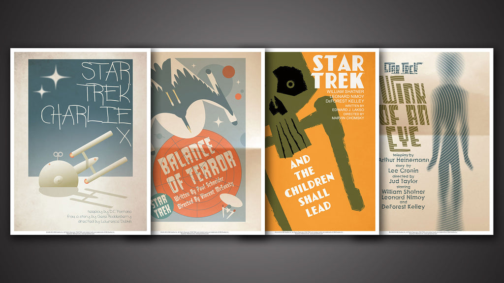 Star Trek: The Original Series Art Prints – Set 2