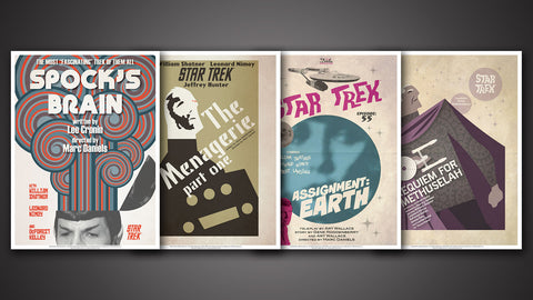 Photo of Star Trek: The Original Series Art Prints – Set 10