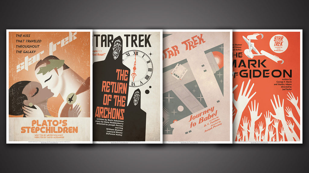 Star Trek: The Original Series Art Prints – Set 13