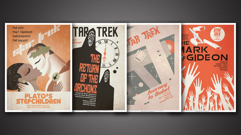 Photo of Star Trek: The Original Series Art Prints – Set 13