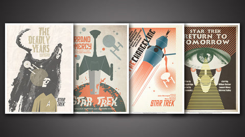 Photo of Star Trek: The Original Series Art Prints – Set 17