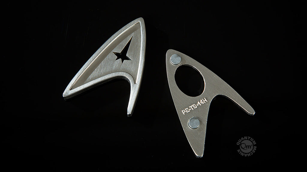 Star Trek Magnetic Insignia Badge — Command