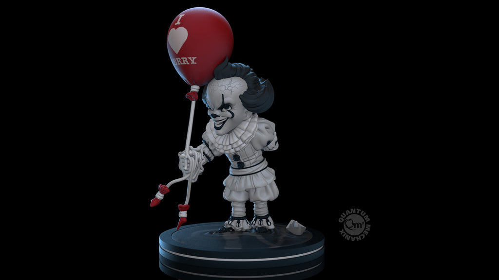 IT: Chapter 2 - Black and White Pennywise Q-Fig (Walmart Exclusive)