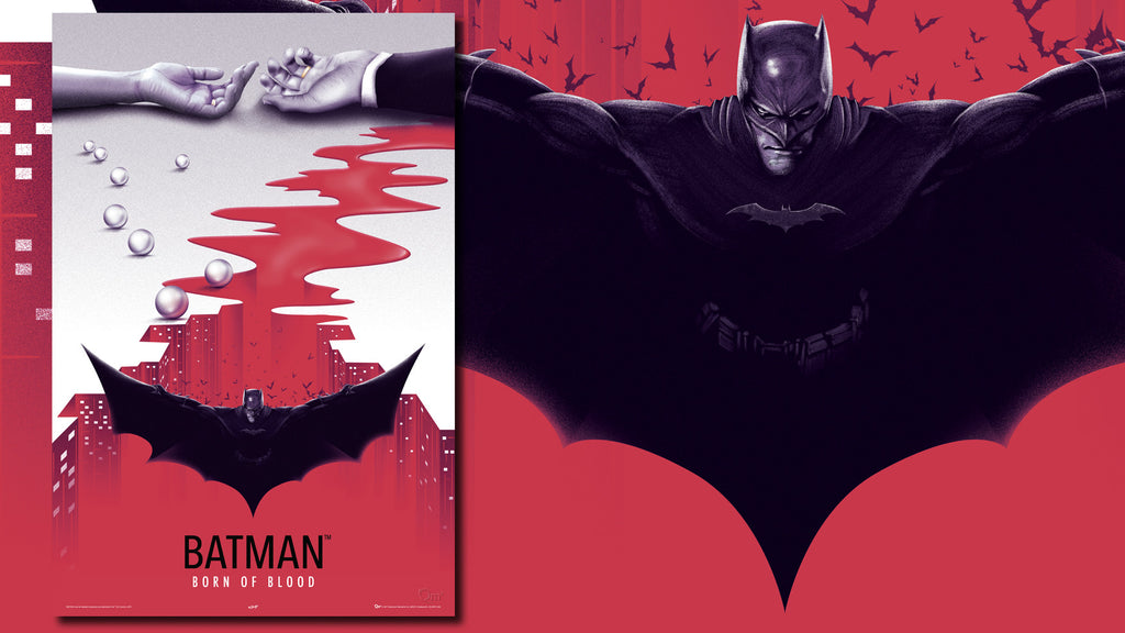 Batman: Born of Blood Art Print