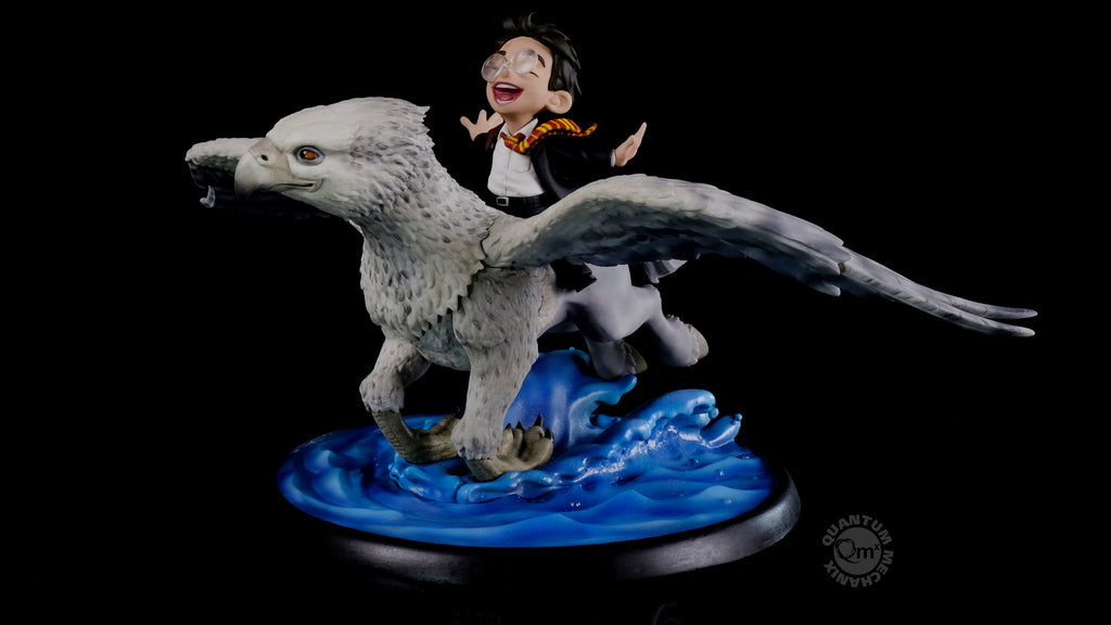Harry Potter and Buckbeak Limited Edition Q-Fig Max