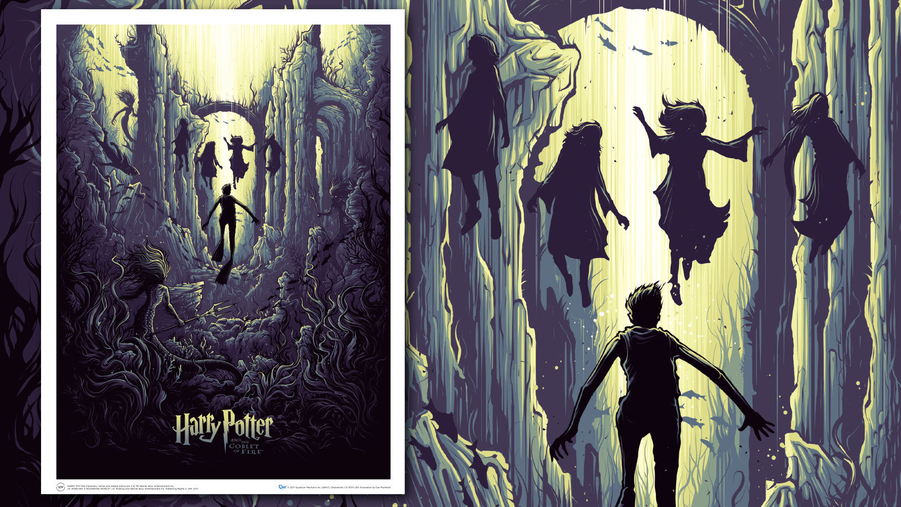 Harry Potter Lithograph Art Prints