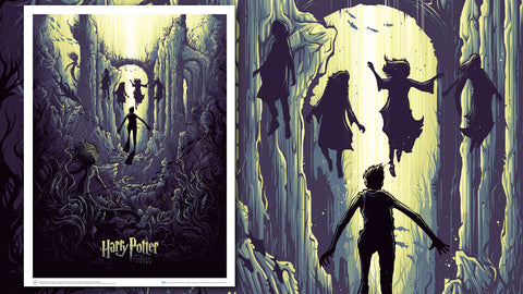 Photo of Harry Potter and the Watery Challenge Art Print