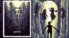 Thumbnail of Harry Potter and the Watery Challenge Art Print