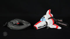 Thumbnail of Cylon Raider & Colonial Viper sold as a set