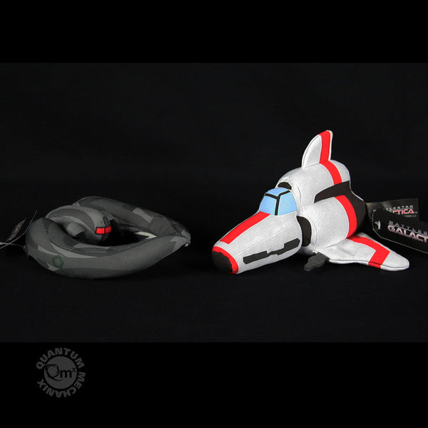 Battlestar Galactica Viper & Raider Plush Set